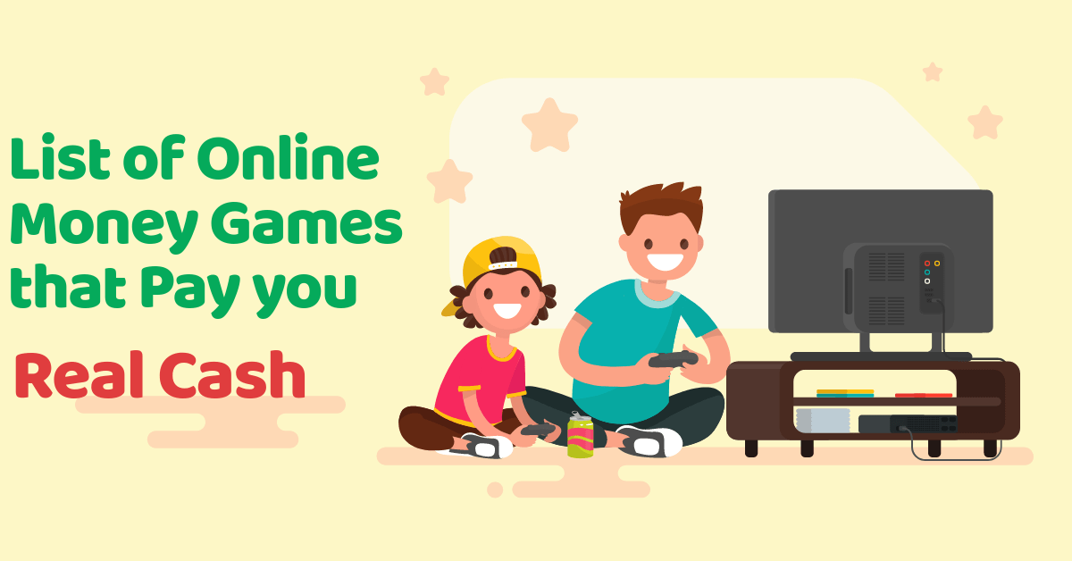 5 Interactive Money Games that Pay you Real Cash
